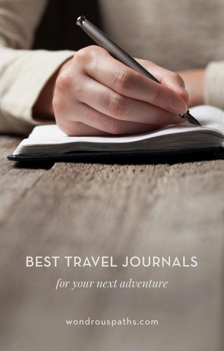 Best Travel Journals to buy before your next trip | Wondrous Paths