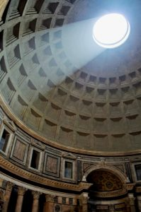 How to see the sights of Rome for free: The Pantheon is always free! Make sure to check it out when it rains.