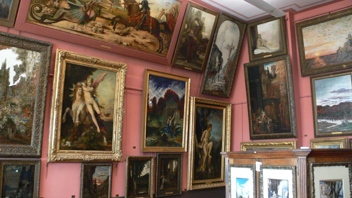 Artist Homes to Visit in France: Gustave Moreau