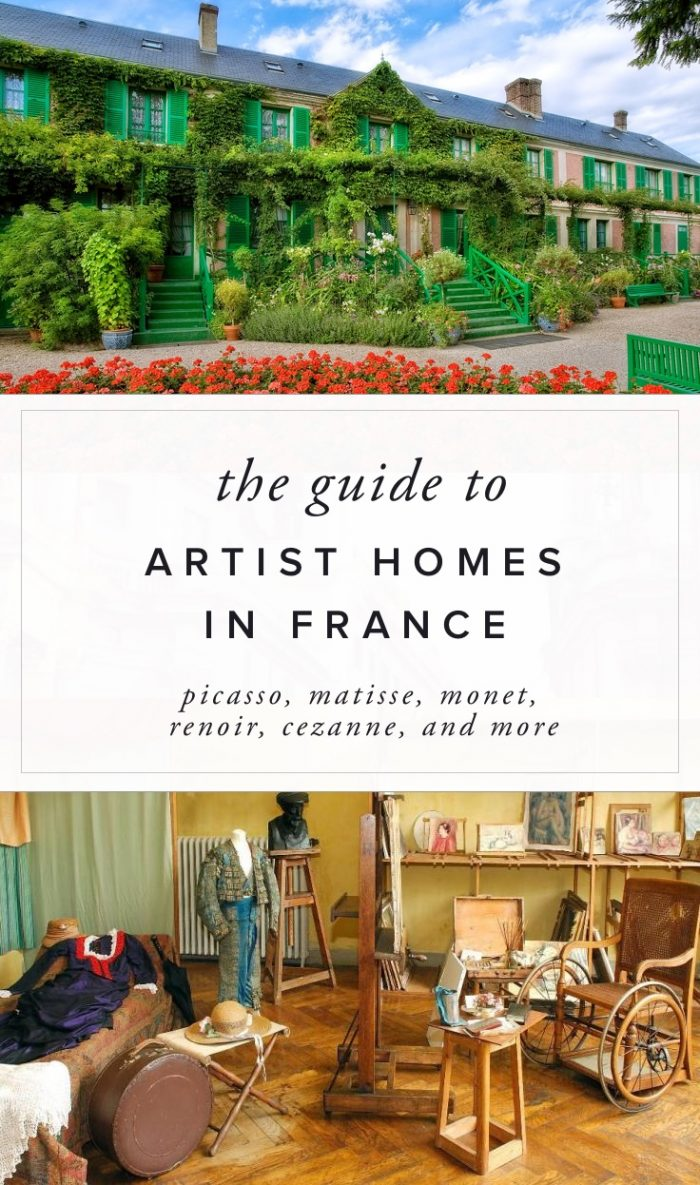The guide to visiting famous artist homes in France
