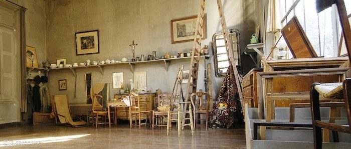 Famous Artist Homes to visit in France: Cezanne's Studio