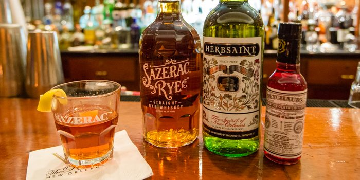 Sazeracs in New Orleans