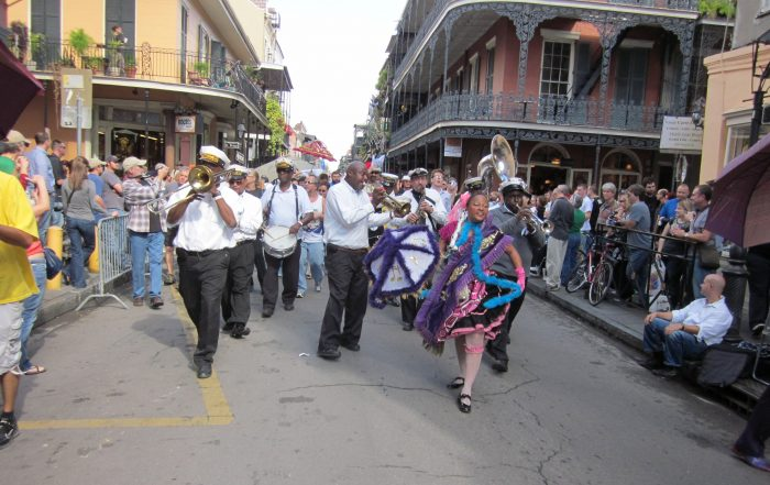 New Orleans Second Line Parade Jazz