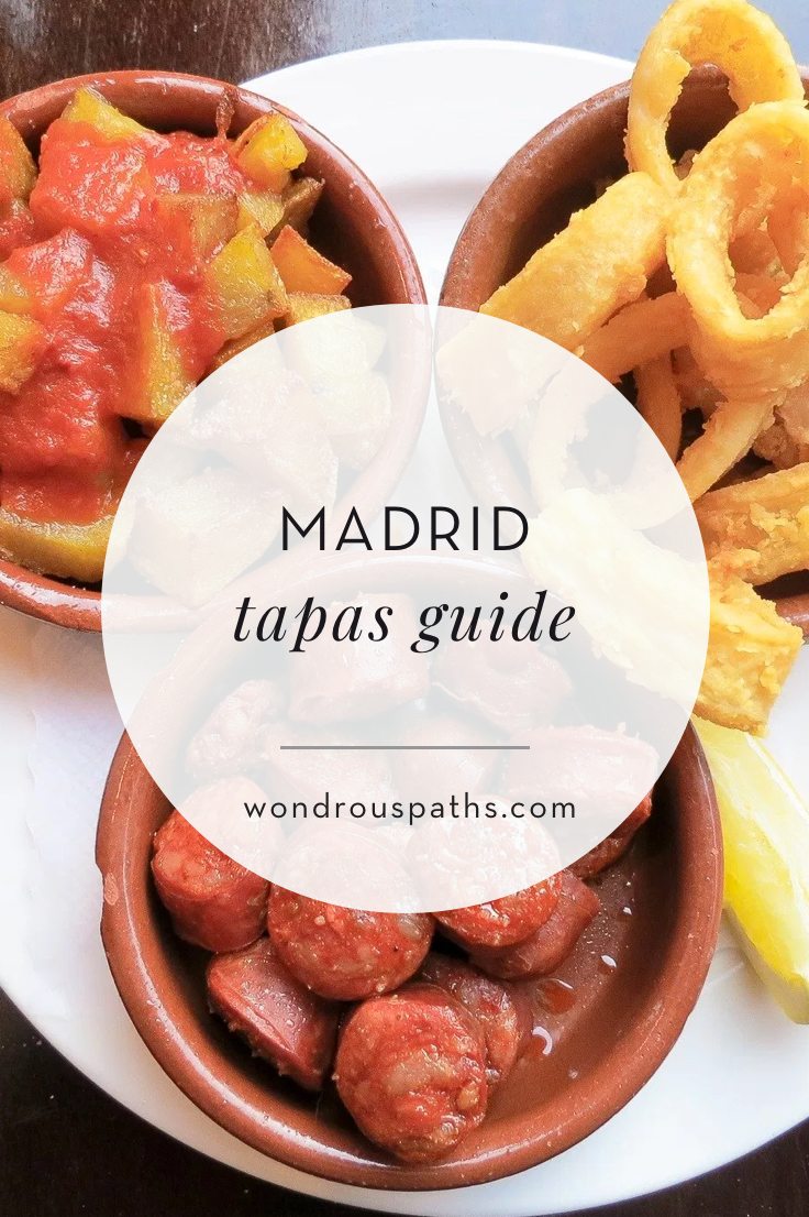 First Timer's Madrid Tapas Guide | Wondrous Paths
