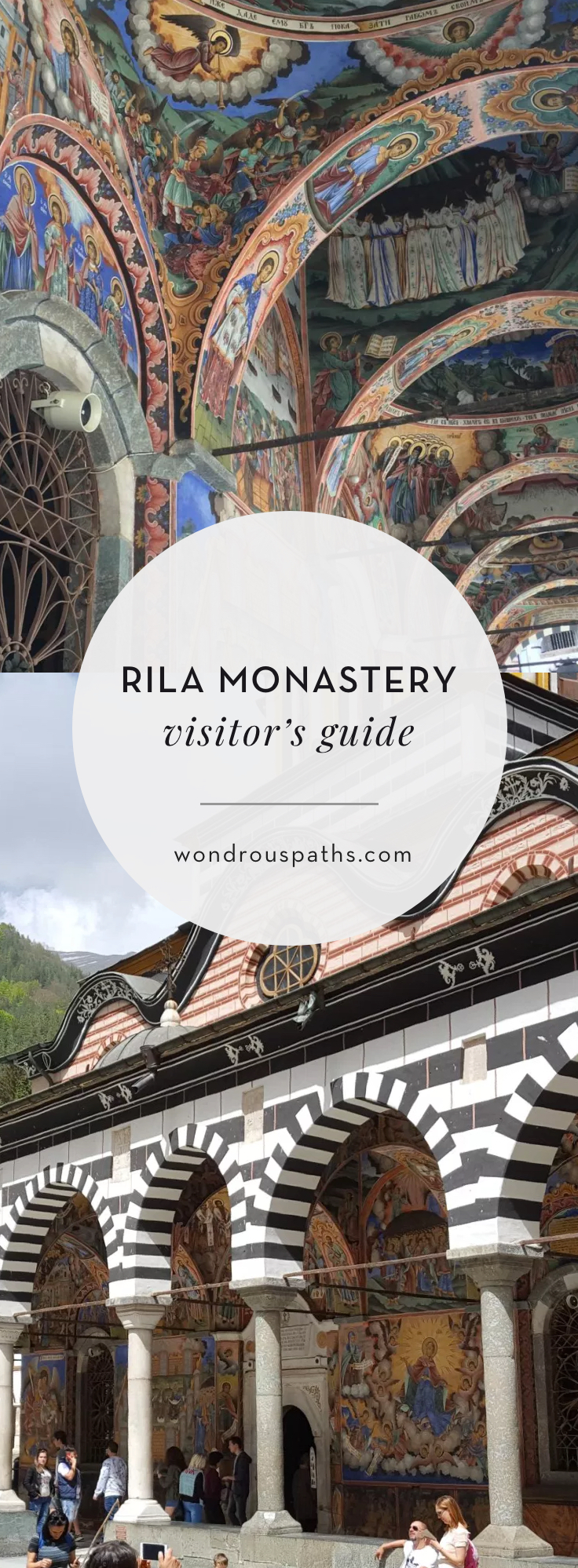 Visitor's guide to the UNESCO World Heritage site Rila Monastery in Rila, Bulgaria