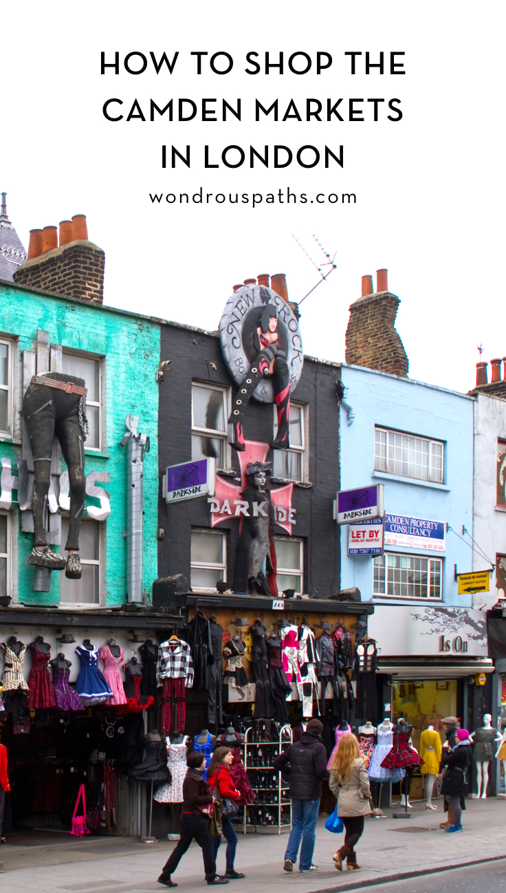 Row of Shops at Camden Market