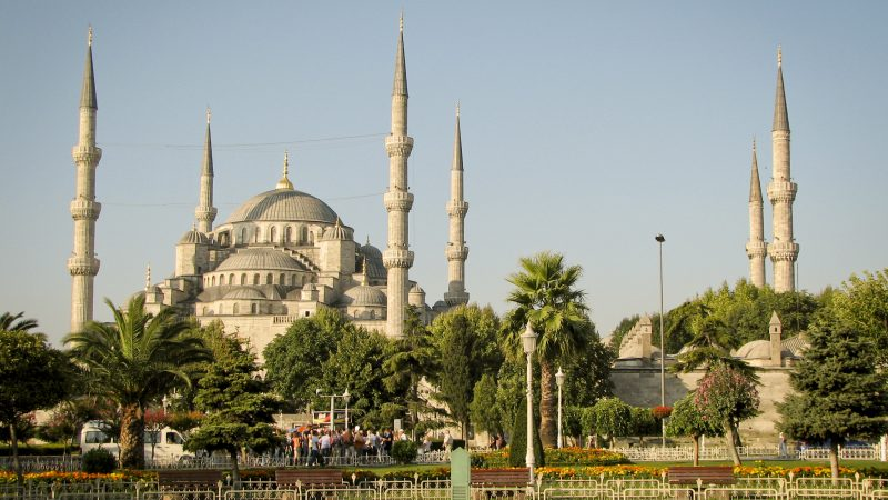 Blue Mosque view in Istanbul