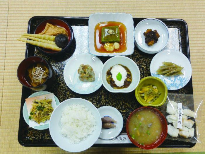 Shojin Ryori meal spread